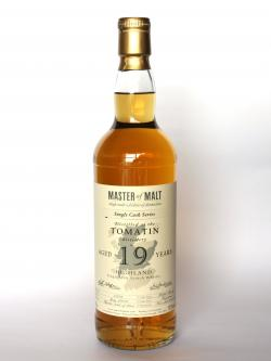 Tomatin 19 year Cask Strengh Single Cask Front side