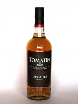 Tomatin Decades Front side