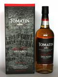 A bottle of Tomatin Decades