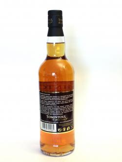 Tomintoul 12 year Sherry Cask Back side