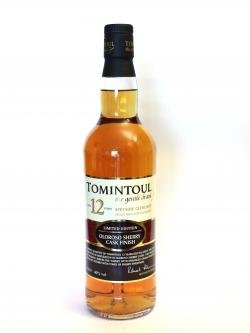 Tomintoul 12 year Sherry Cask Front side