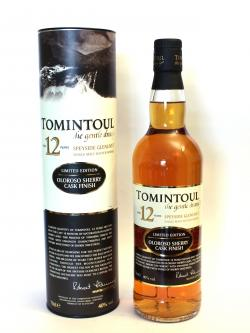 Tomintoul 12 year Sherry Cask