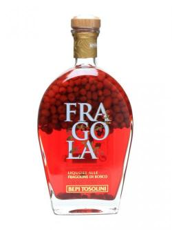 A bottle of Tosolini Fragola Wild Strawberry Liqueur