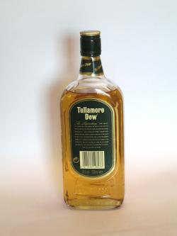 Tullamore Dew Blend Back side