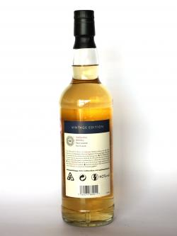 Tullibardine Vintage 1993 16 year Back side