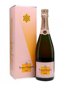 Veuve Clicquot Rose Champagne/Call Box (Record Your Message)
