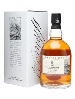 A bottle of Wemyss Peat Chimney 8 Year Old Blended Malt Scotch Whisky