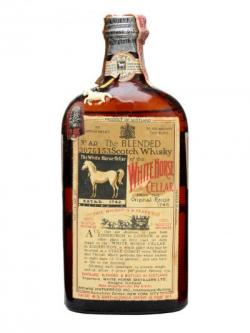 White Horse 8 Year Old / Bot.1930s Blended Scotch Whisky