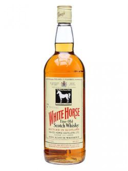 A bottle of White Horse / US Quart / Bot.1980s Blended Scotch Whisky