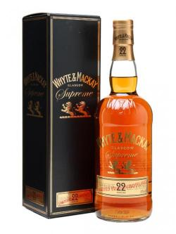 Whyte& Mackay 22 Year Old - Supreme Blended Scotch Whisky