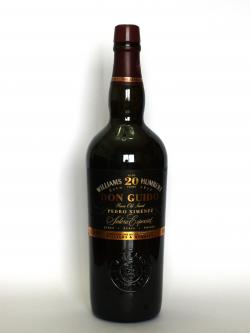 William Humbert Don Guido 20 year Pedro Ximenez Front side