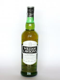 A photo of the frontal side of a bottle of William Lawson's