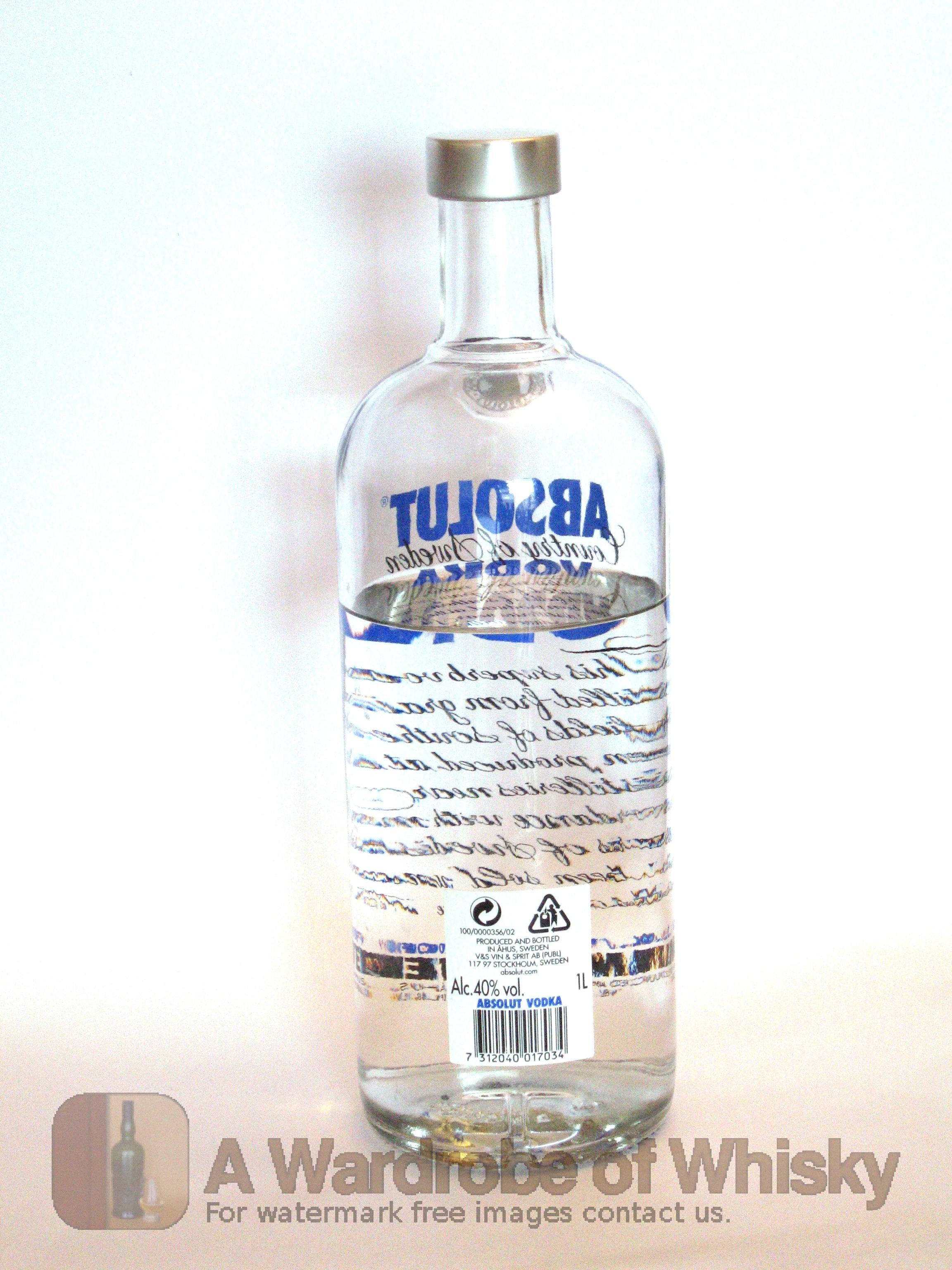 Buy Absolut Vodka Vodka - Absolut   Whisky Ratings & Reviews