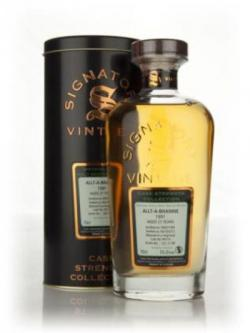 Allt-�-Bhainne 21 Year Old 1991 Cask 90114 - Cask Strength Collection (Signatory)