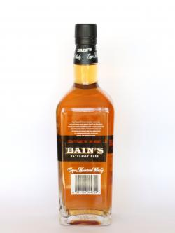 Bain's Cape Mountain Whisky Back side