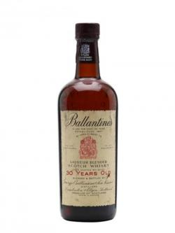 Ballantine's 30 Year Old / Bot.1960s Blended Scotch Whisky