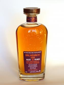 Balmenach 1988 / 25 Year Old / Cask #1132/ Signatory for TWE Speyside Whisky Front side