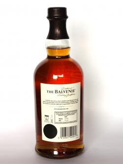 Balvenie 12 year Signature Back side