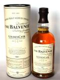 A bottle of Balvenie 14 year Golden Cask