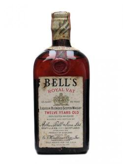 Bell's Royal Vat 12 Year Old / Bot. 1930s Blended Scotch