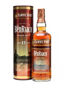 Benriach 15 Year Old / Tawny Port Wood Finish Speyside Whisky