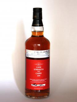 Benriach Caskstrength and Carry on Front side