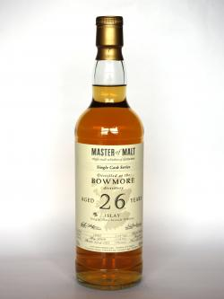 Bowmore 26 year Master of malt Single Cask Front side