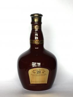 Chivas Regal Royal Salute 21 year Ruby Flagon Back side