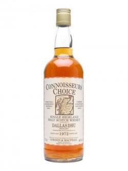 Dallas Dhu 1972 / Connoisseurs Choice Speyside Whisky