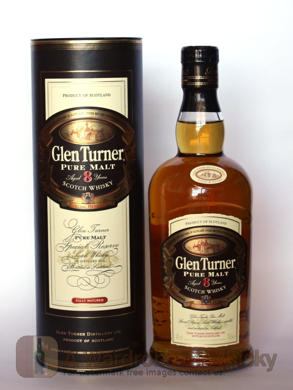 Buy Glen Turner 8 Year Single Malt Whisky Unspecified