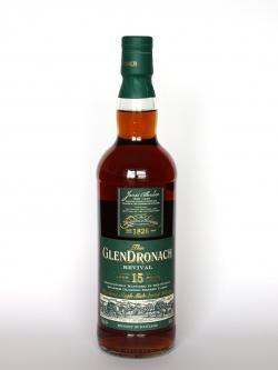 Glendronach 15 year Revival Front side