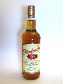 Glenfarclas 10 year Front side