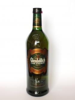 Glenfiddich 15 year Cask Strength Front side