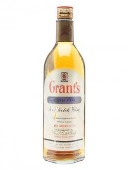 Grant's Standfast / Bot.1970s Blended Scotch Whisky