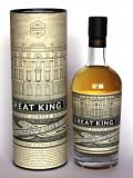 A bottle of Great King Street Artisan Blended Whisky