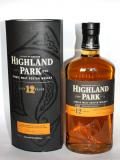 A bottle of Highland Park 12 year