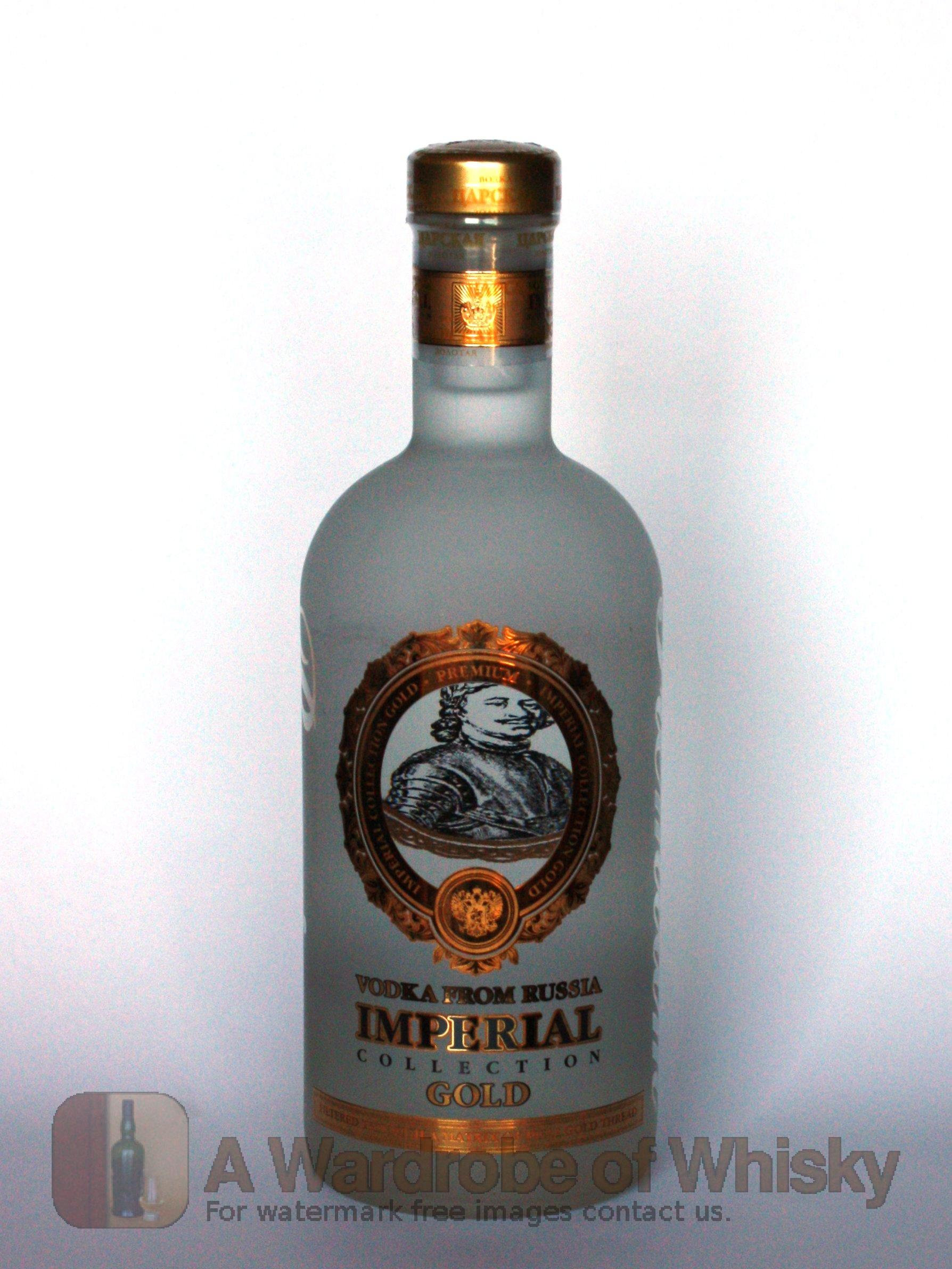 Buy Imperial Collection Gold Russian Vodka Vodka