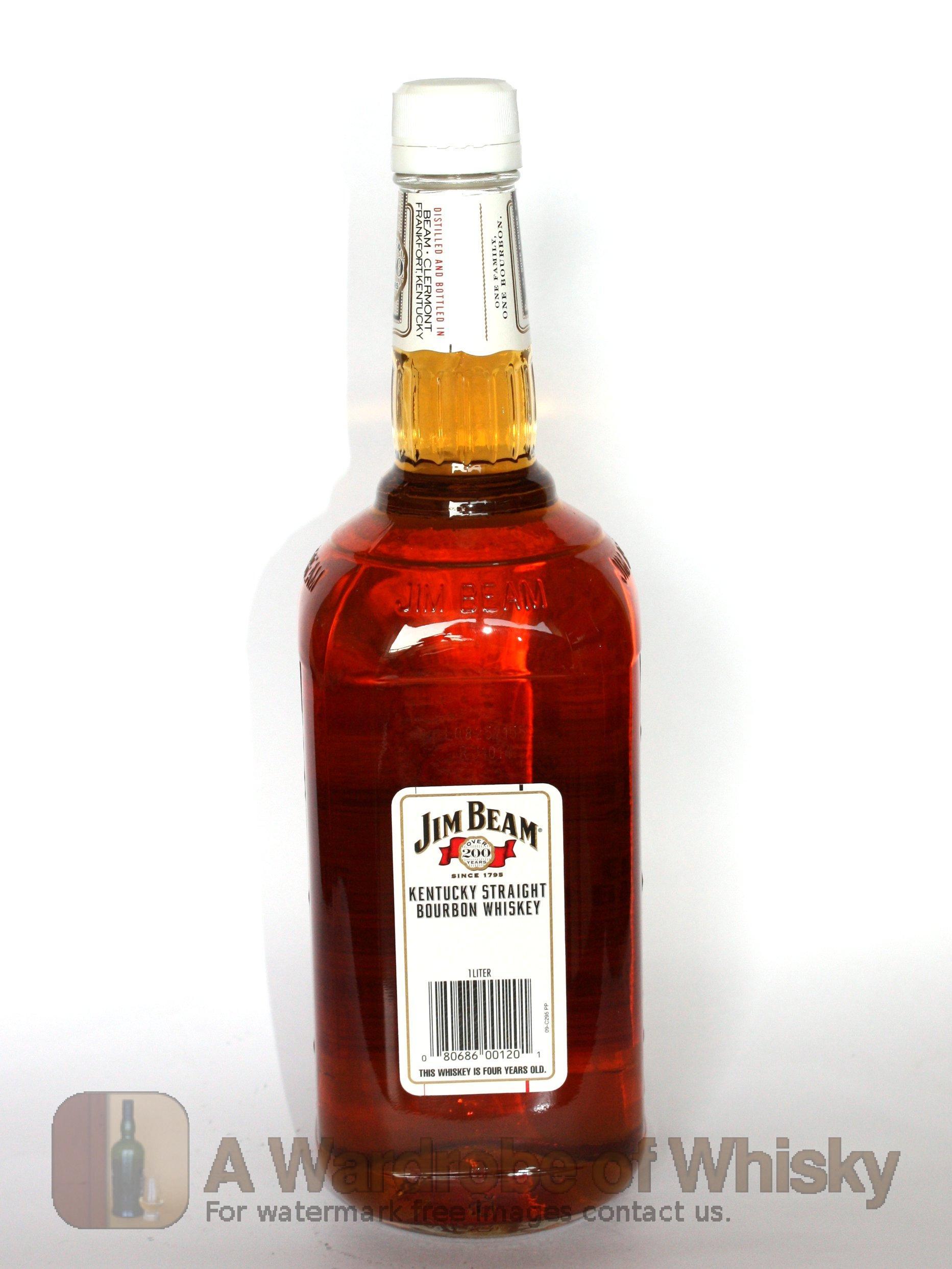 Buy Jim Beam Kentucky Straight Bourbon Whiskey Bourbon