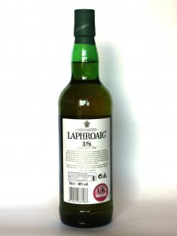 Laphroaig 18 year Back side