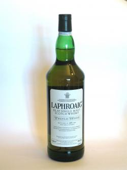 Laphroaig Triple wood Front side
