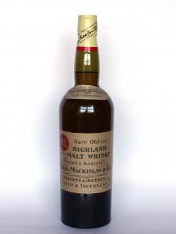Mackinlay's Rare old Highland Malt Whisky Front side