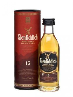 Glenfiddich 15 Year Old Miniature