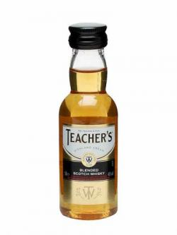 Teacher's Blended Whisky Miniature Blended Scotch Whisky