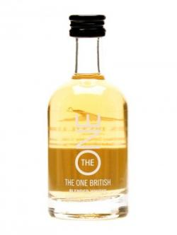 The One British Blended Whisky Miniature Blended British Whisky