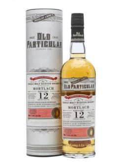 Mortlach 2002 / 12 Year Old / Cask #DL10696 / Old Particular Speyside Whisky