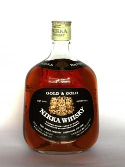 Nikka Gold & Gold Front side