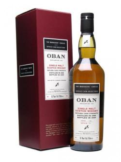 Oban 2000 / Managers' Choice / Cask 1186 Highland Whisky