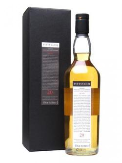 Pittyvaich 1989 / 20 Year Old Speyside Single Malt Scotch Whisky