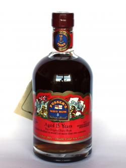 Pusser's Navy Rum 15 year Front side
