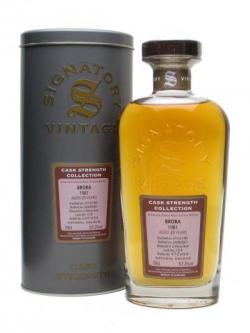Brora 1981 / 25 Year Old / Sherry Cask / Signatory Highland Whisky